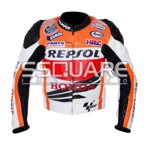 Honda Repsol Biker Leather motorbike jacket