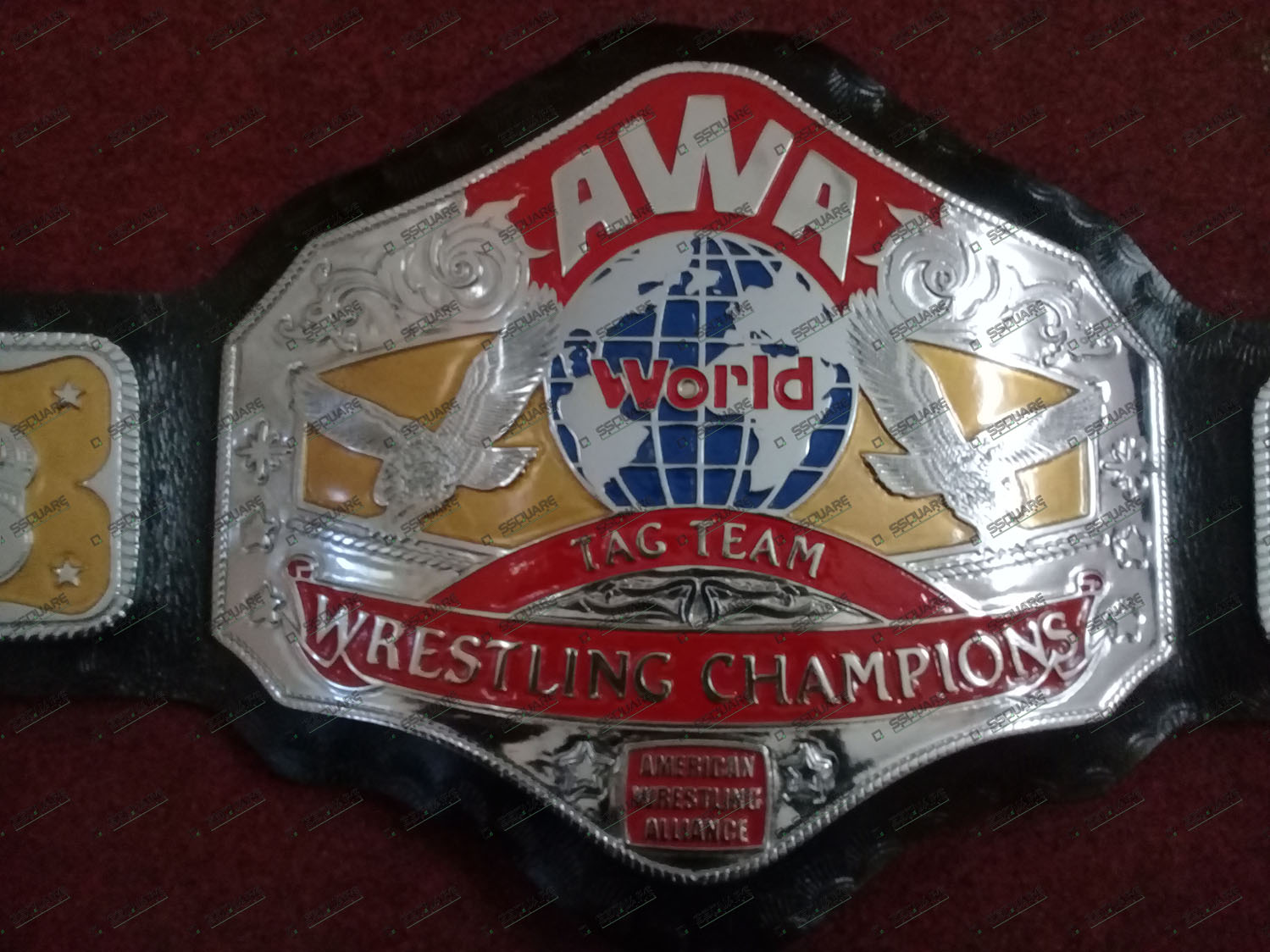 AWA World Tag team Wrestling Champions Belt