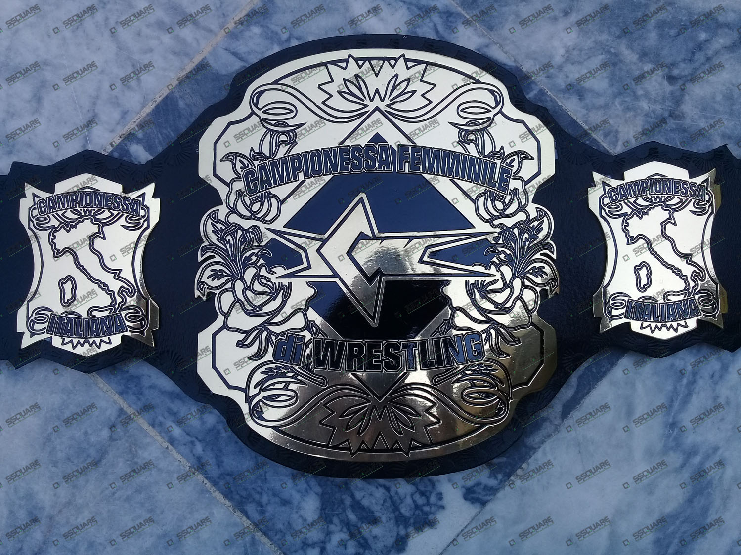 ICW Custom Italian Champion belt