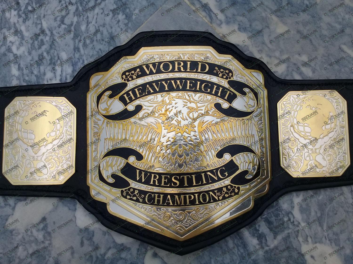 World Heavyweight Wrestling Champion replica belt