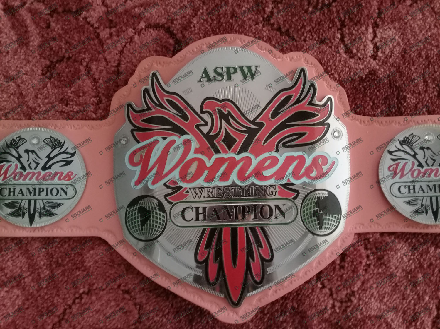 ASPW Women's Wrestling Champion Belt