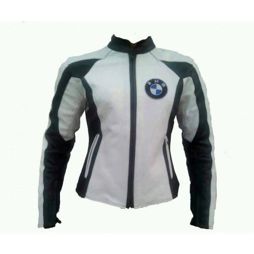 BMW Women Motorbike Racing Leather Jacket