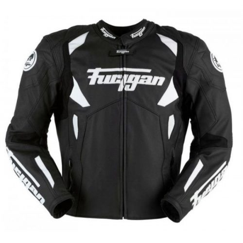 Furygan Spyder Motorbike Racing Leather Jacket Black