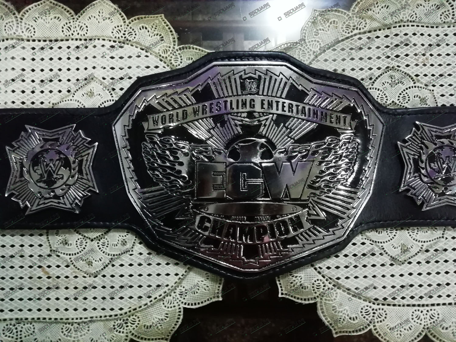 ECW World Wrestling Entertainment Champion replica belt