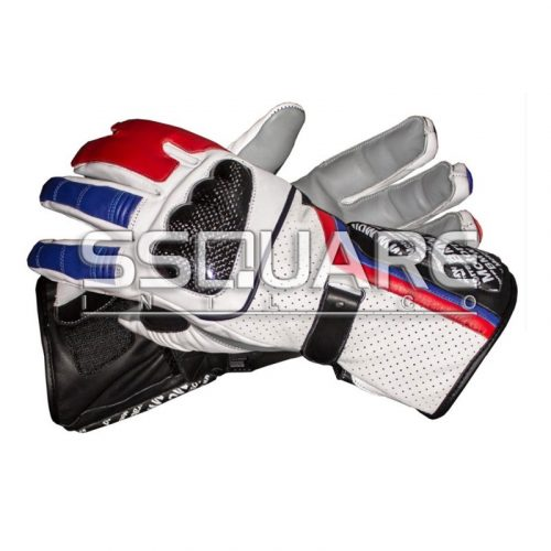 Leon Haslam BMW Motorrad 2011 Race Leather Gloves
