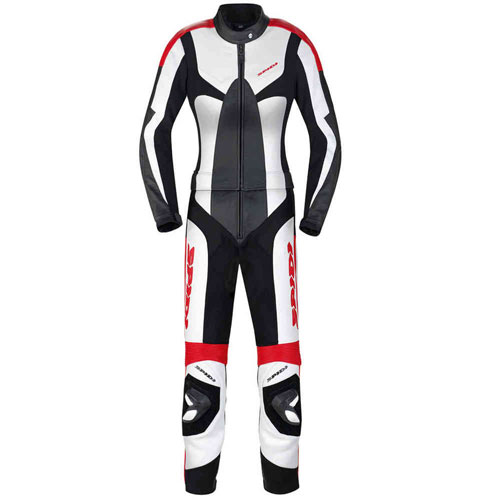 Spidi Poison Touring Ladies Two Piece Motorcycle Leather Suit