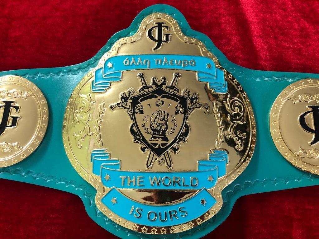 Caribbean Title belt