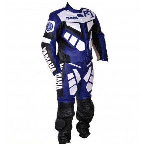 YAMAHA R1 Racing Biker Leather Suit MOTOGP Motorcycle/Motorbike Leather Suits