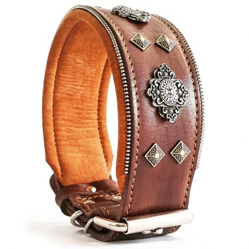 big dog leather collar