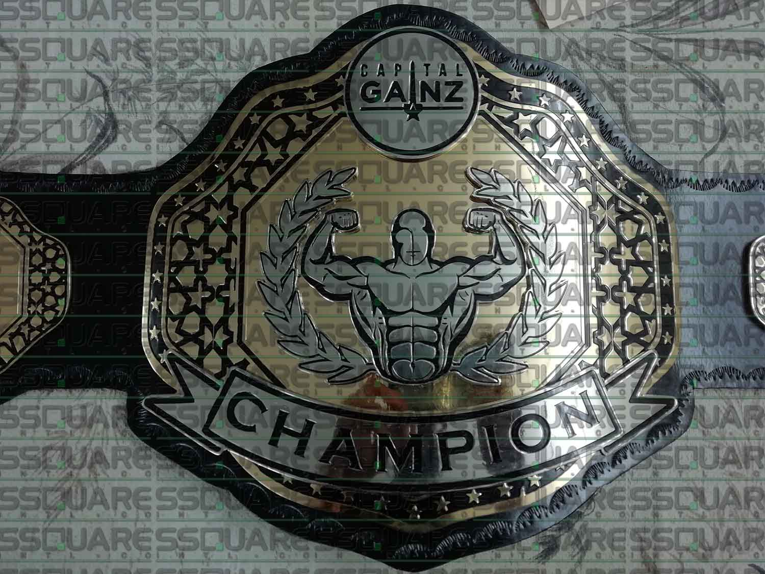 Custom made Capital Gainz Championship Belt