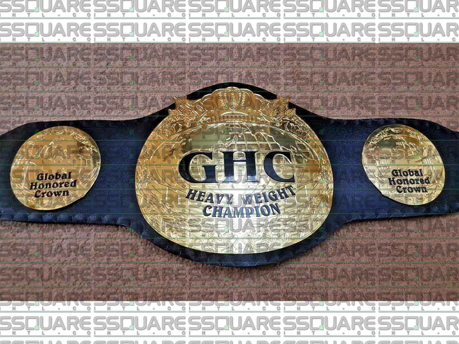 GHC Global Honored Champion replica belt