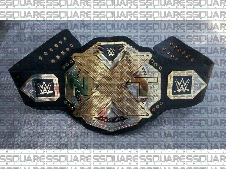 WWE NXT Heavyweight Wrestling Champion replica belt