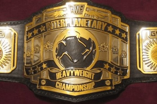 GWF Inter planetary Championship Replica Belt