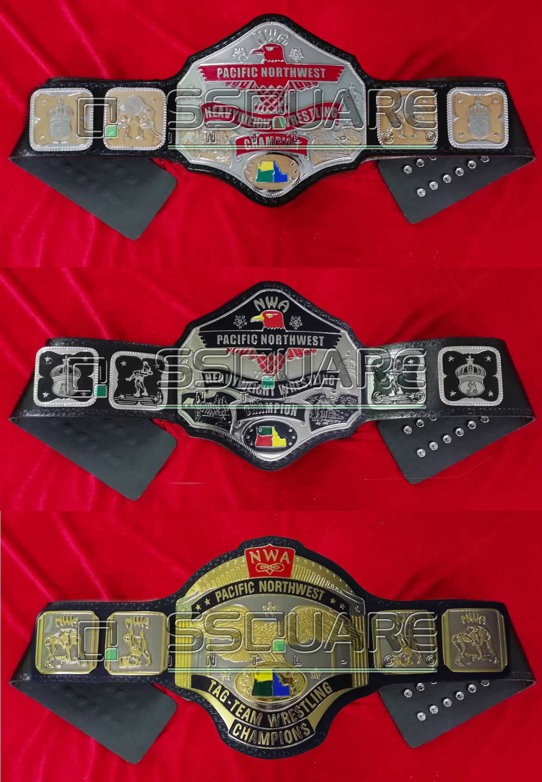NWA Pacific Northwest belt set