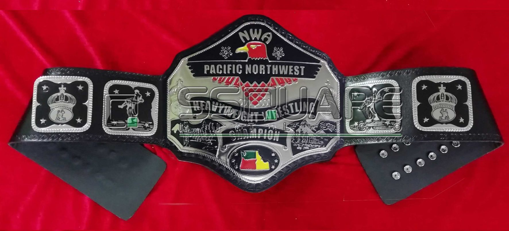 NWA Pacific Belt set